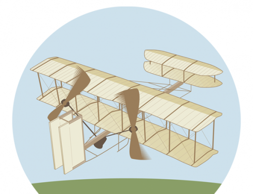 The Rainmaker Academy Wright Brothers Campaign Illustration