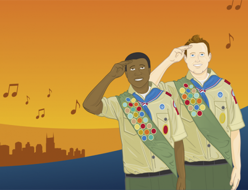 Boy Scouts of America Extravaganza Illustration