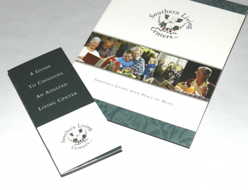 Southern Living Centers Brochure & Presentation Kit