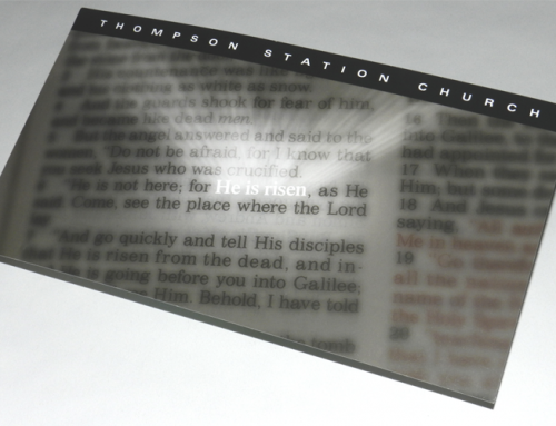 Thompson Station Church Easter Direct Mail
